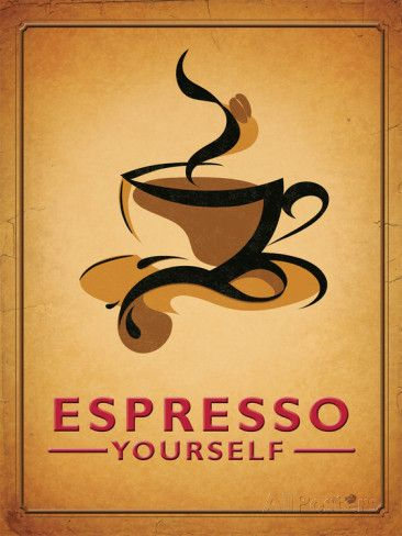 Espresso Yourself Blikken bord