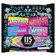 Laffy Taffy, Bottle Caps, SweeTarts and Nerds Halloween Variety Pack - 32oz/115ct