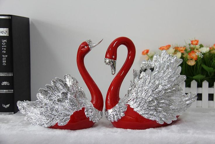 Material de porcelana de natal bonito favor do casamento cor ganso-Artesanato de resina-ID do produto:60617081078-portuguese.alibaba.com