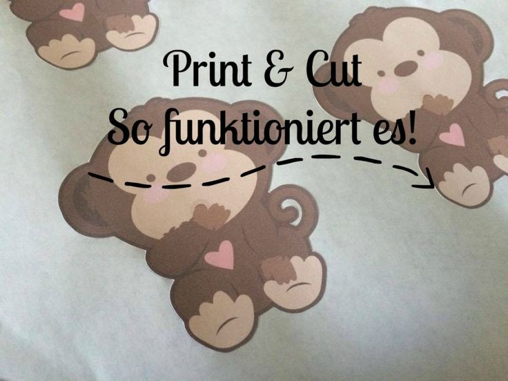[Plotter-Anleitung] Print & Cut – So klappt´s!