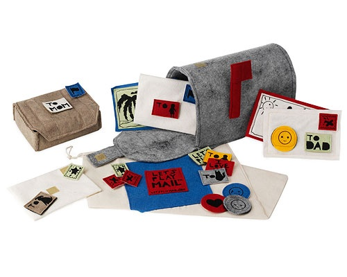 Felt Mailbox...must learn to make this! might need some help figuring out the mailbox!