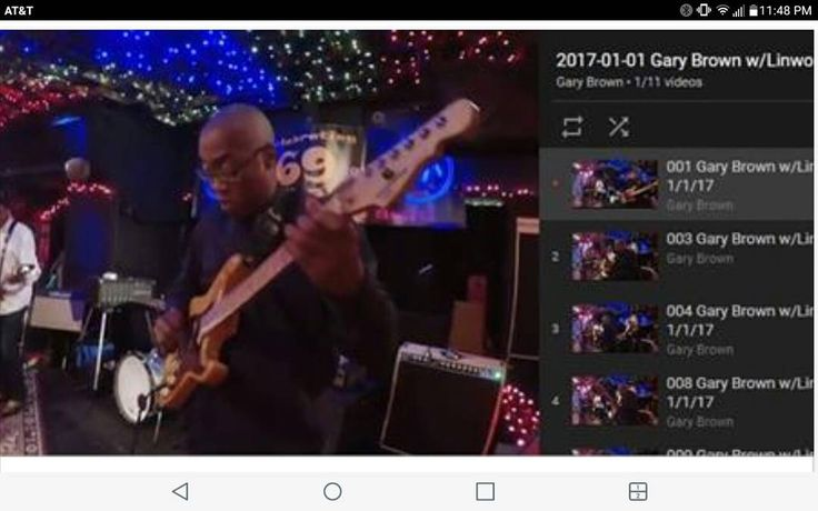 Some fun video to share with you. :-) 2017-01-01 Gary Brown w/Linwood Taylor Band at JV's https://www.youtube.com/playlist?list=PLjwWhb5jDhBT6lzDbNagvMpajE4nCkLAn Really fun night… Had the pleasure of sitting in with The Linwood Taylor Band tonight,...