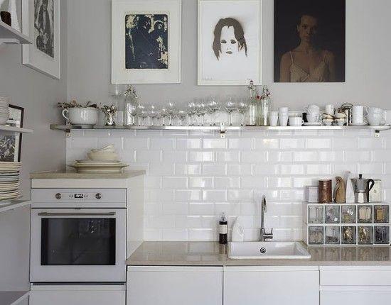 durable white kitchen tiles
