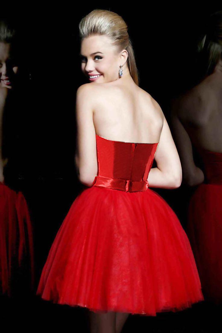 Rochie pentru cununie rosie Red Passion RR3440