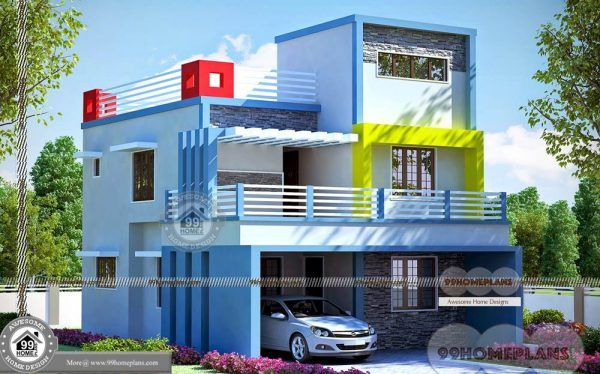 Most Economical Homes To Build With 2 Story Modern Trendy Selections Simple House Plans House Plans With Photos Small House Design