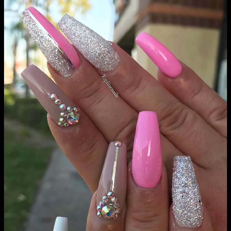 Q Riouser Q Riouser Nail Art: 25+ Best Ideas About Pink Acrylic Tips On Pinterest