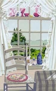 Chair Curtain Treasures   Joy Laking Gallery