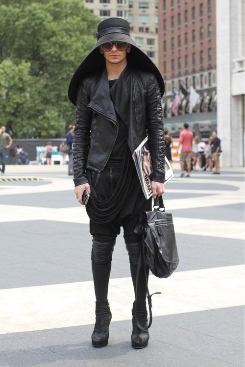 humansofnewyork:  Garth Vader humiliates his father by shunning the throne and pursuing a fashion career.