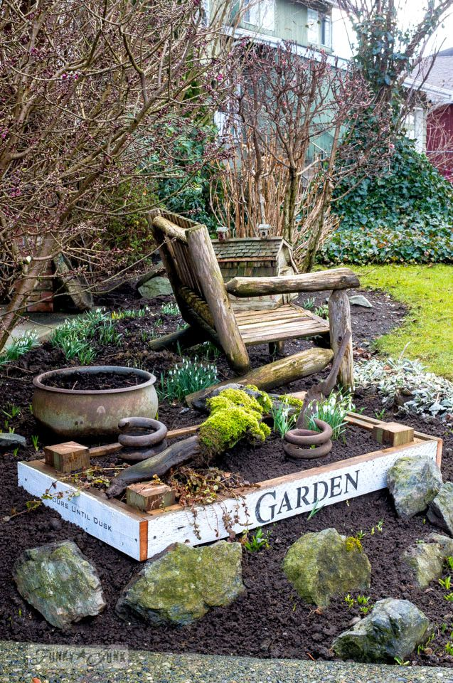 2045 best xjunkersunite garden junk images on pinterest a mother spring loaded flowerbeds on auto pilot and new plans workwithnaturefo
