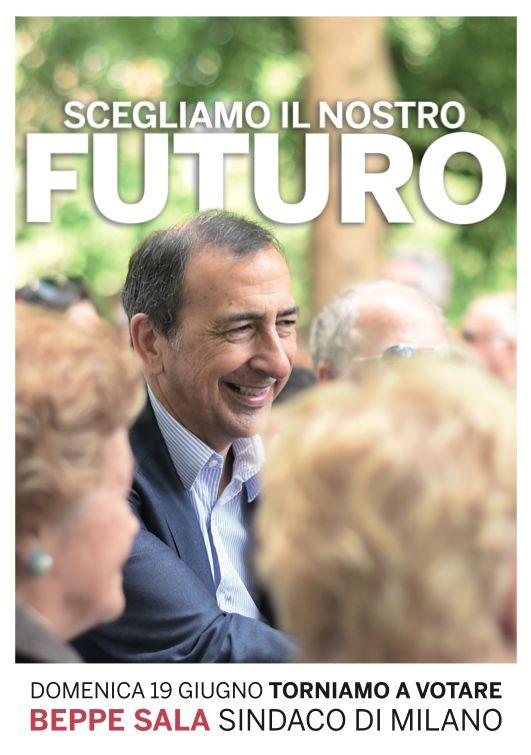 Beppe Sala Sindaco, amministrative 2016 - ballottaggio // graphic