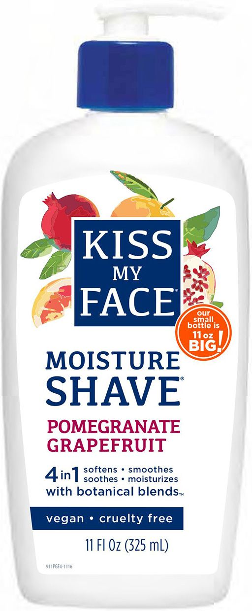 Soften, soothe, smooth and moisturize as you shave with Kiss My Face Moisture Shave Creams. This Pomegranate Grapefruit scented formula gives a fabulously close shave and is: vegan & cruelty free a 4 in 1 cream formula that soothes, smooths,…Read more ›