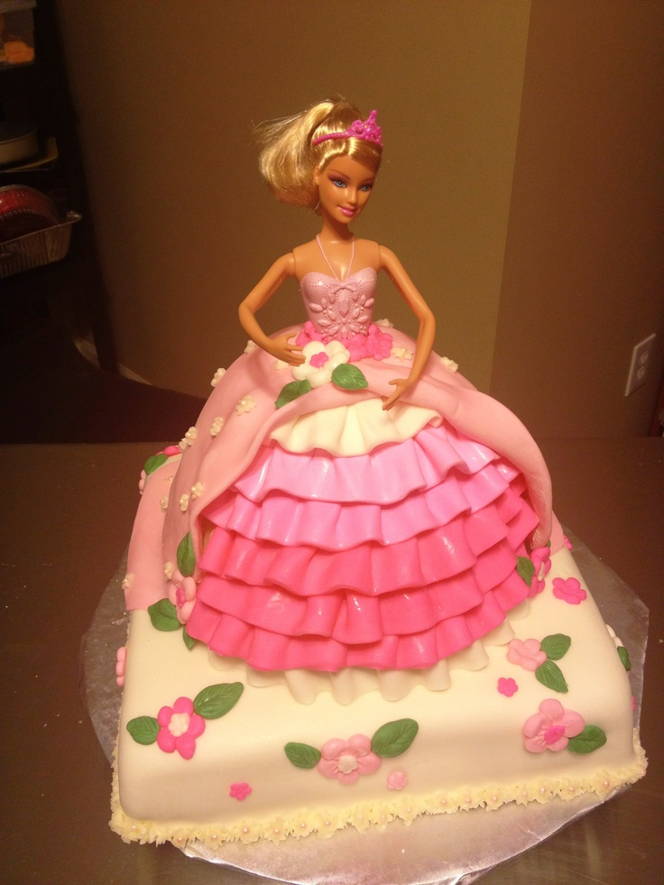 Barbie Cake | Barbie cake | Pinterest