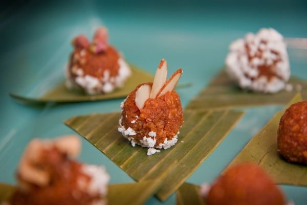Coconut candy on Guam is made with sugar, freshly grated coconut and a touch of butter.