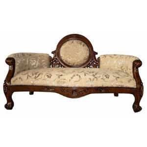 Victorian Cameo-Backed Sofa by Wayfair                                                                                                                                                                                 More