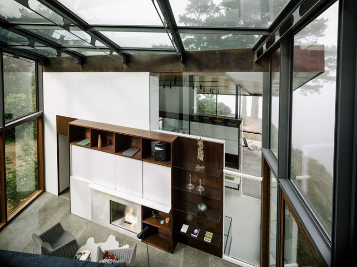 Fall House by Fougeron Architecture in Carmel Village, California via HomeDSGN
