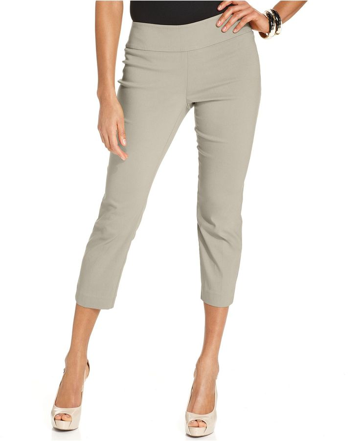 work capri pants - Pi Pants
