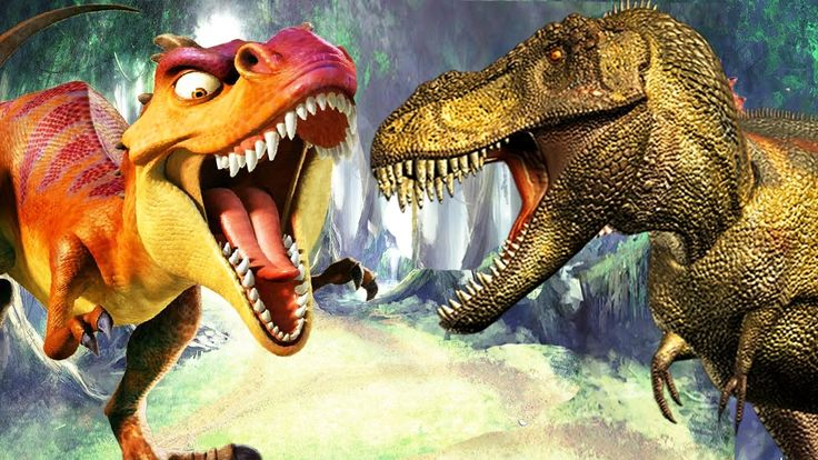 dinozorlar vs dinosaur çocuklar için komik karikatür 2017 | çocuklar içi...