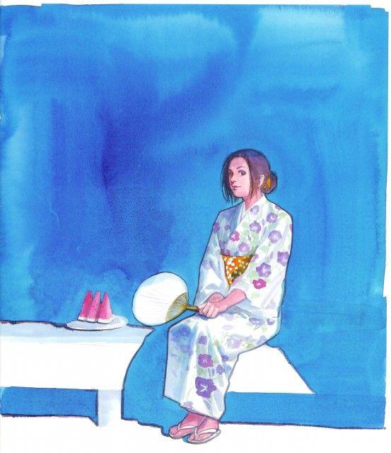 Takehiko Inoue, Vagabond, Art of Vagabond: Water, Otsu