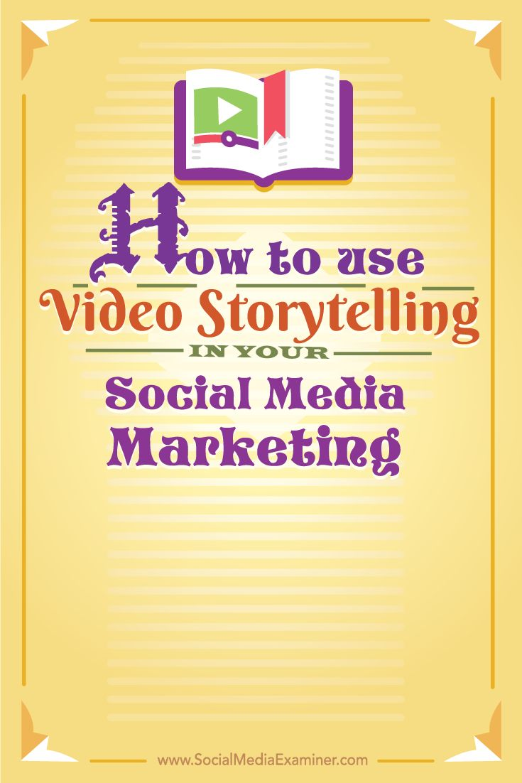 How to Use Video Storytelling in Your Social Media Marketing Ea4c5602817105ff87ea4fd9b0b2d6a4