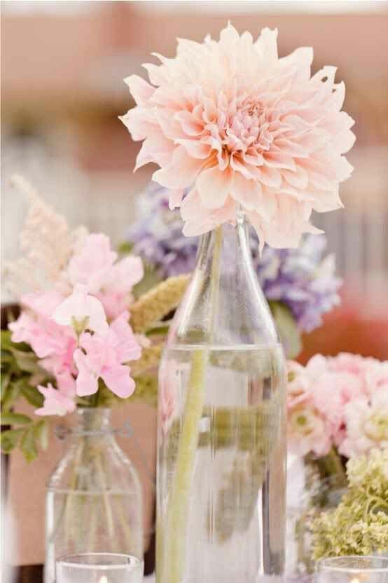 Pastel flowers decoration party diy