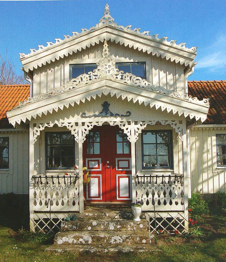 überdachter Vorbau Am Haus: Die Besten 25+ Holzverzierungen Ideen Auf Pinterest