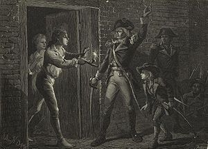 Capture of Fort Ticonderoga - Although the scope of this military action was relatively minor, it had significant strategic importance.  It involved two larger-than-life personalities in Allen and Arnold and, most significantly, artillery from Ticonderoga would be dragged across Massachusetts to the heights commanding Boston harbor, forcing the British to withdraw from that city.
