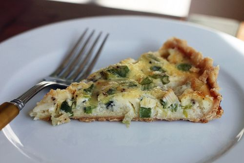Roquefort Cheese and Green Onion Tart - Amateur Gourmet