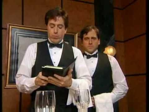 In a 1996 sketch from the the short-lived Dana Carvey Show, comedians Stephen Colbert and Steve Carrell brilliantly play a couple of waiters who are extremely nauseated by food and do their best to...