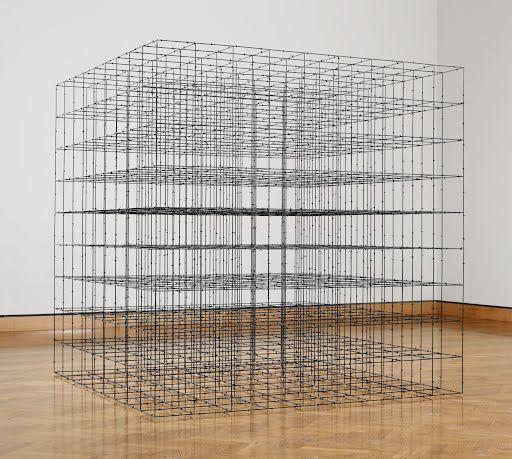 Cube (9 x 9 x 9) - Mona Hatoum - Google Arts & Culture https://www.google.com/culturalinstitute/beta/asset/cube-9-x-9-x-9/SQFb_MWyyuYa9A?utm_content=buffer96a69&utm_medium=social&utm_source=pinterest.com&utm_campaign=buffer