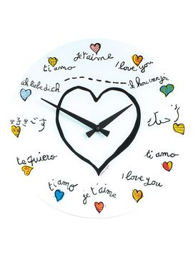 Loving You Wall Clock from Refresh Your Office on Gilt