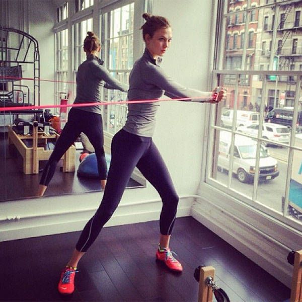 Trainers to the Victoria's Secret Angels share their workout routine and tips:
