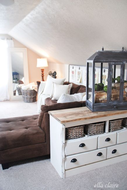 """{Ella Claire}: Bonus Room """"After"""" Pictures... and a fun vintage play area!"""