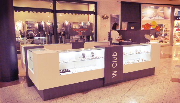 Kiosk W Club in Shopping Moinhos de Vento - Porto Alegre | Brazil