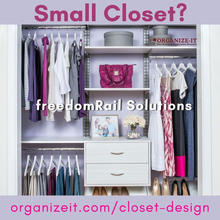 Whether you have a small closet, a large one, an inefficient pantry, or a dire need for garage storage, freedomRail closet/shelving systems can help you build your dream storage solutions. Check out our blog for more information.  #closet #smallcloset #closetdesign #storage #wardrobe #garagestorage #garage #pantry #pantryorganization #closetsolutions