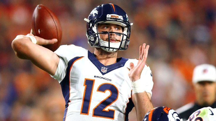 Denver Broncos must decide where Paxton Lynch fits on QB depth chart - Denver Broncos Blog- ESPN