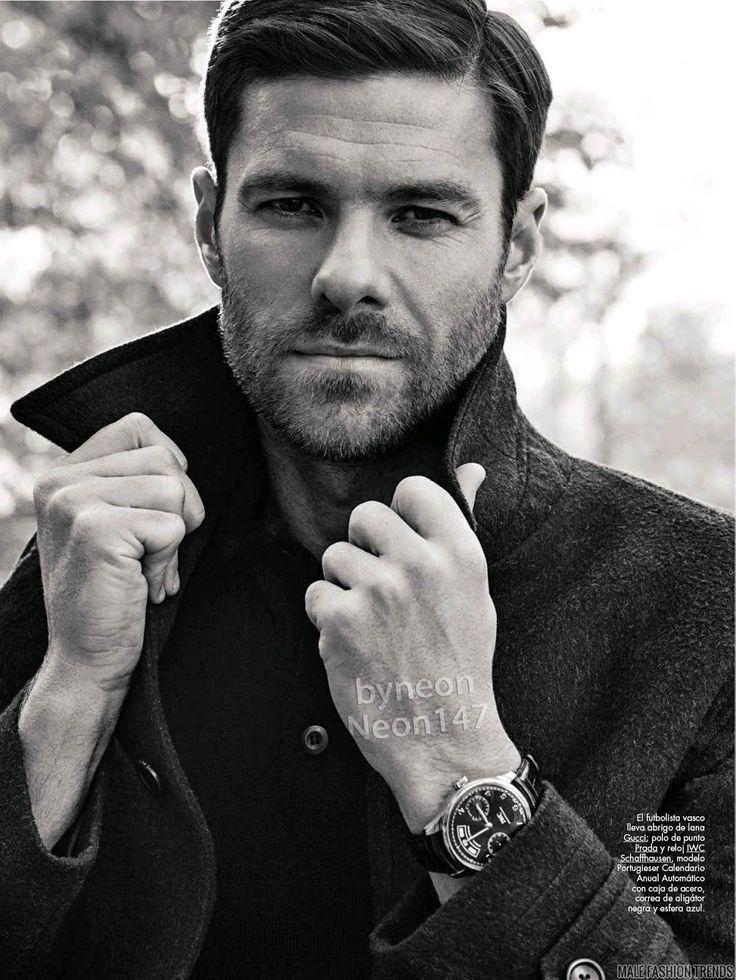 Male Fashion Trends: Xabi Alonso para GQ España Febrero 2016 por Richard Ramos