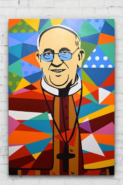 PAPA FRANCISCO | LOBO | POP ART www.lobopopart.com.br