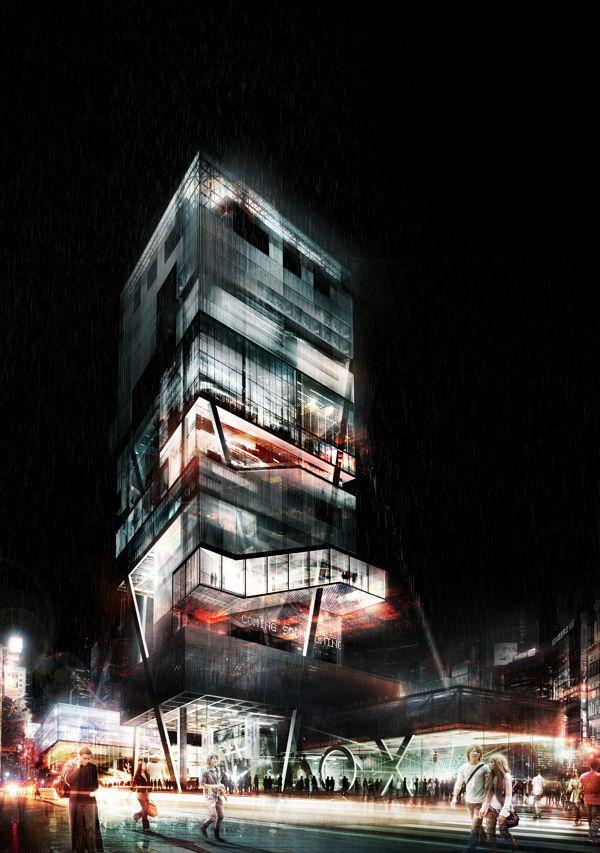 Highrise Proposal, Tokyo by Alexander Daxböck (16)