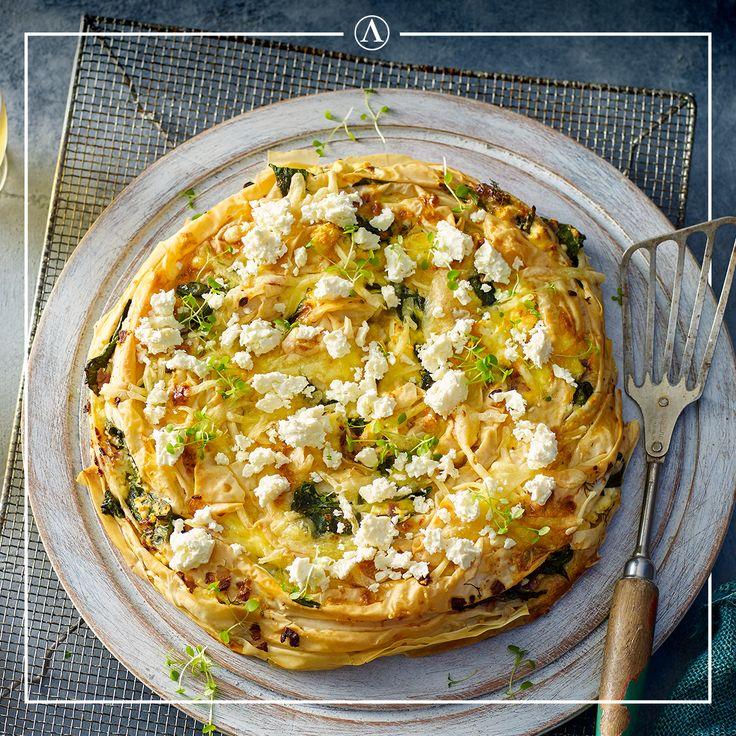 Traditional Spanakopita  #summerrecipes #easyrecipes #Mediterranean #cheese #Lemnos