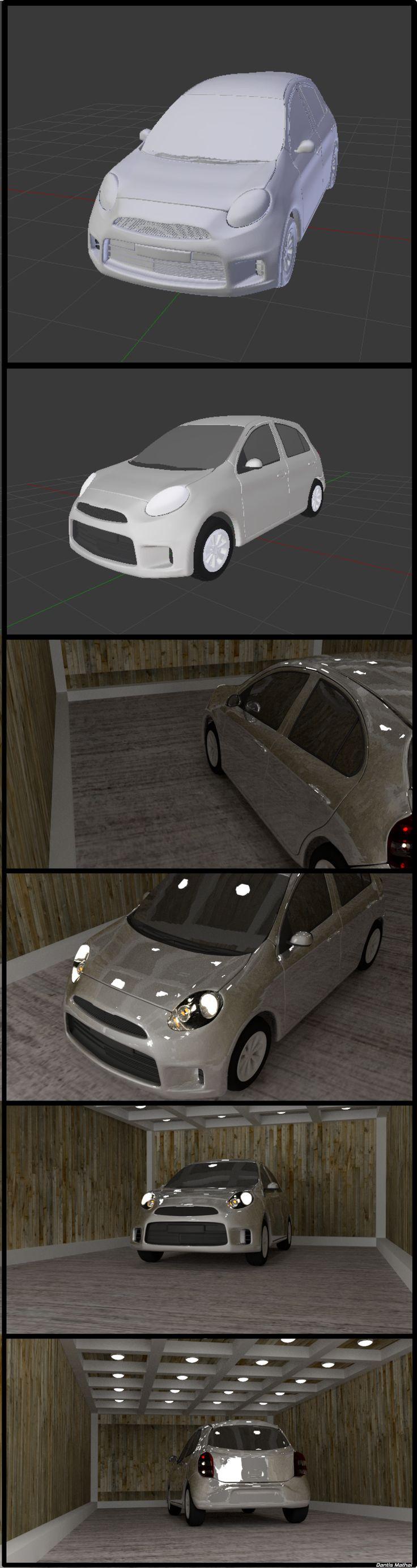 #3d model of #Nissan Micra Active XV made using #Blender 3d  https://www.youtube.com/watch?v=3-POgHKjRlA