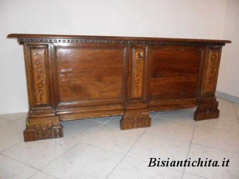 Cassapanca Mantovana XVII Secolo
