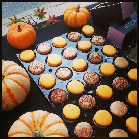 Une décoration halloween avec les macarons Franck Deville