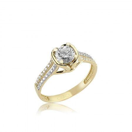 Inel de logodna EVALINA - Cristale - Inele de logodna