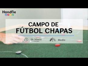 Campo de fútbol chapas | Handfie