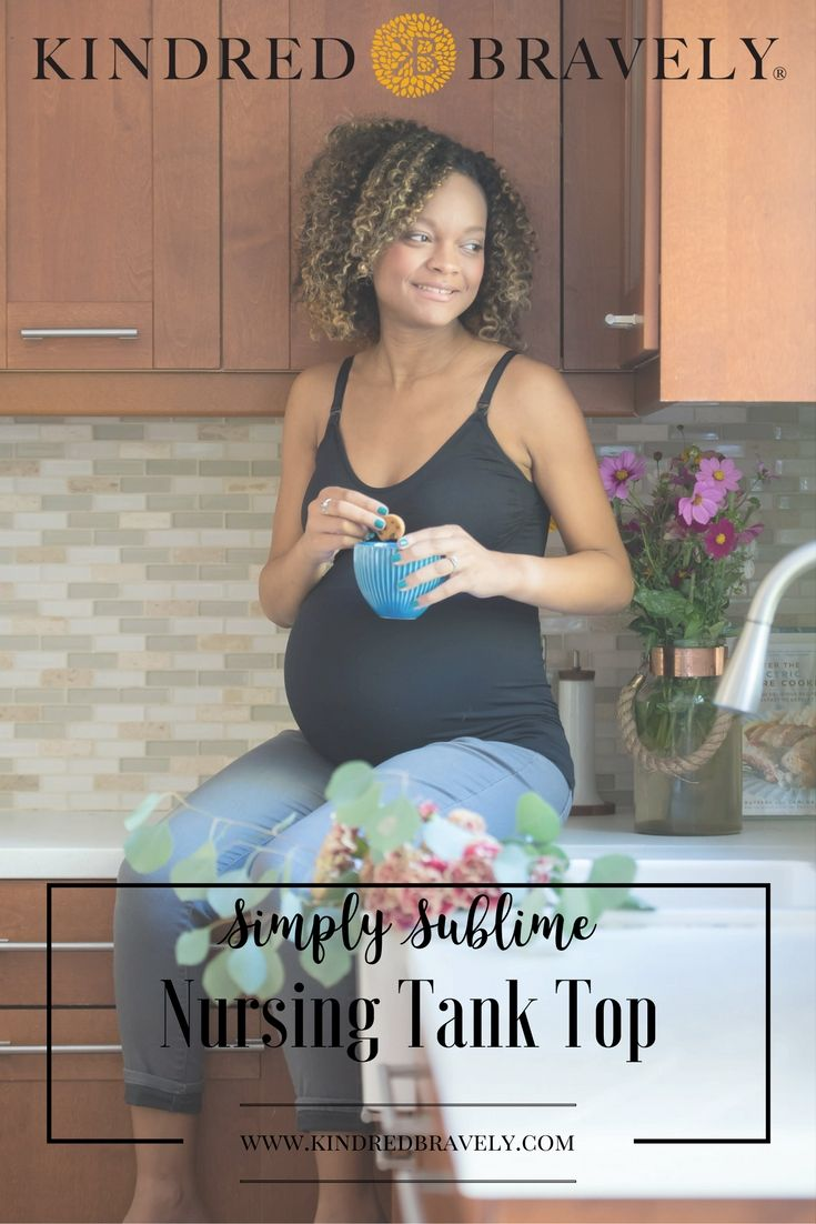 3e590248d65e5 Kindred Bravely  Maternity and Nursing Tank  Simple