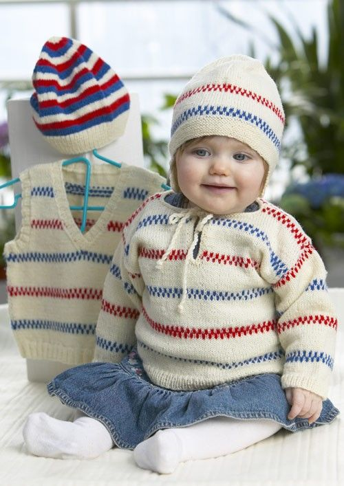 """""""Pippitröja"""" i Baby Ull - 901-1121"""