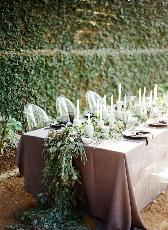 Traditional and modern mix 8 Wedding Trends You'll See in 2015 via @domainehome