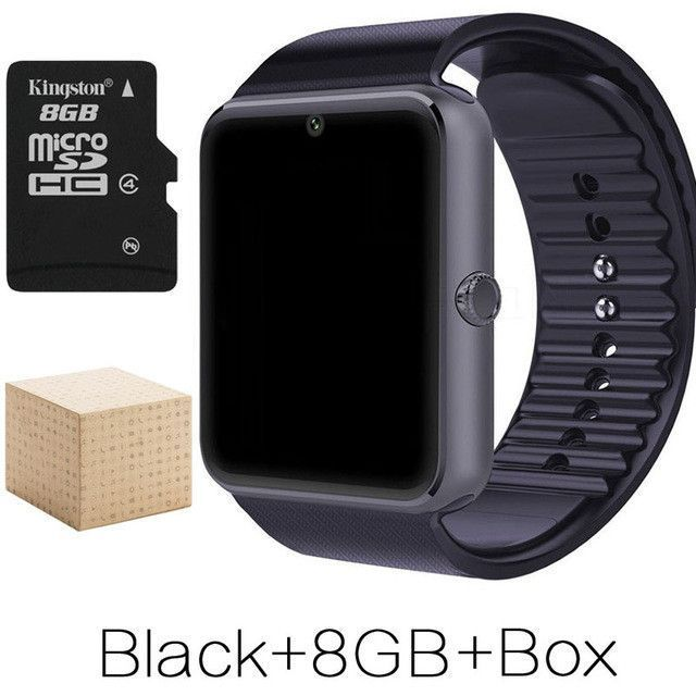 Smart Watch With Sim Card Slot Push Message Bluetooth Connectivity Android/Apple Phone