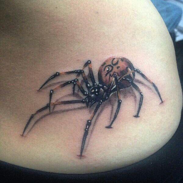 Tatuaje de araña realizado en nuestro centro de la Vaguada de Madrid.    #tattoo #tattoos #tattooed #tattooing #tattooist #tattooart #tattooshop #tattoolife #tattooartist #tattoodesign #tattooedgirls #tattoosketch #tattooideas #tattoooftheday #tattooer #tattoogirl #tattooink #tattoolove #tattootime #tattooflash #tattooedgirl #tattooedmen #tattooaddict#tattoostudio #tattoolover #tattoolovers #tattooedwomen#tattooedlife #tattoostyle #tatuajes #tatuajesmadrid #ink #inktober #inktattoo