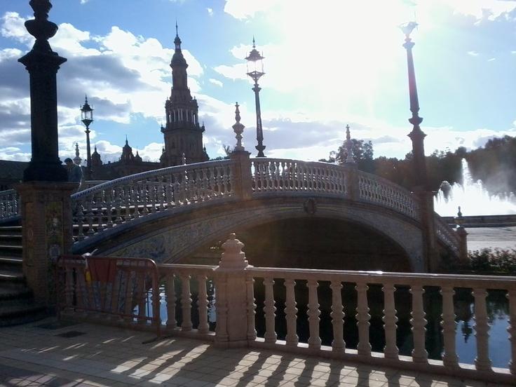 Plaza de Espana!